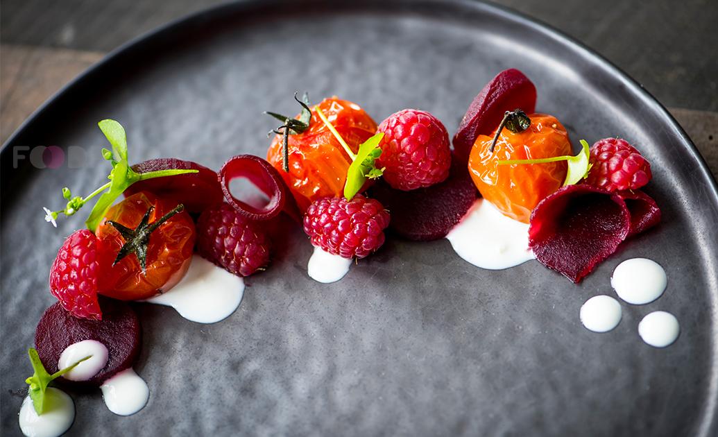 raspberry and horseradish pairing foodpairing summer